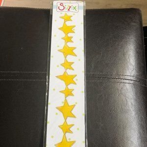 Sizzix Decorative Strip Stars Die *NIB*